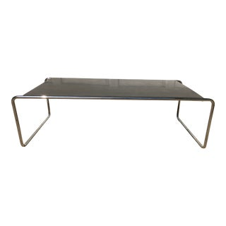 Marcel Breuer for Knoll Laccio Coffee Table For Sale