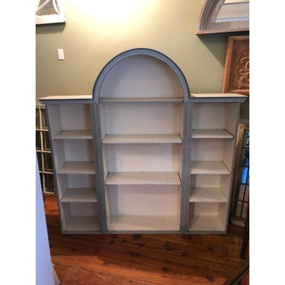 Shabby Chic Farmhouse Style Bookcase Preview