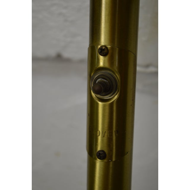 Mid-Century Modern Mid Century Modern 3 Light Pole Lamp For Sale - Image 3 of 10
