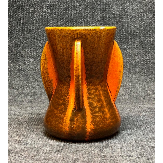 Pfaltzgraff Art Deco Vase, Spanish TIle glaze. From their art pottery period 1932-1937. I was lucky to acquire this vase...