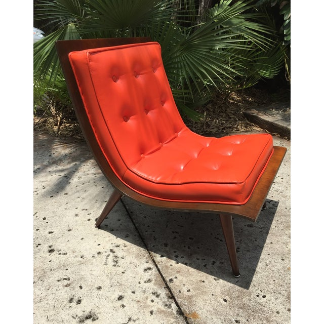 "Mid Century Modern ""Scoop"" Chair - Image 2 of 10"