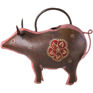 Dark Pig Watering Can For Sale