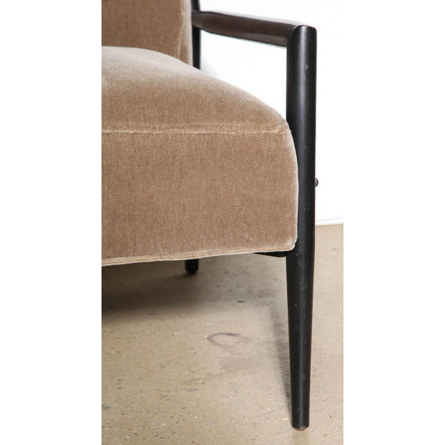 Black 1950s Vintage Paul McCobb 3082-E Planner Group Ebonized Lounge Chair For Sale - Image 8 of 12
