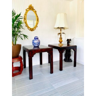 1980s Asian End Tables by Henredon Four Centuries - a Pair Preview