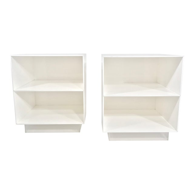 Pair of Alessandro Albrizzi End Tables For Sale