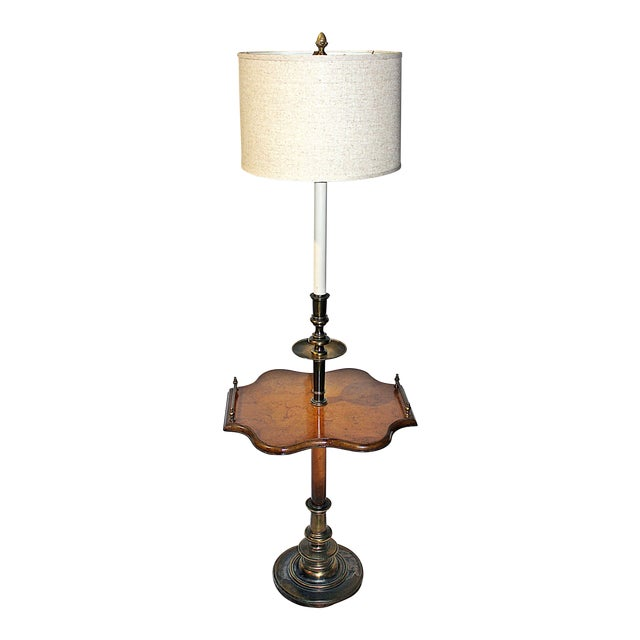 Traditional Floor Table Lamp - Image 1 of 7