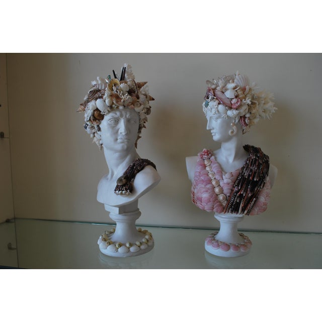 Small pair of Apollo and Diana busts to grace any bookcase or mantle, these charming characters have decorated homes for...