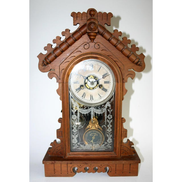 Jacot's Regulator Mantel Clock - Image 3 of 6