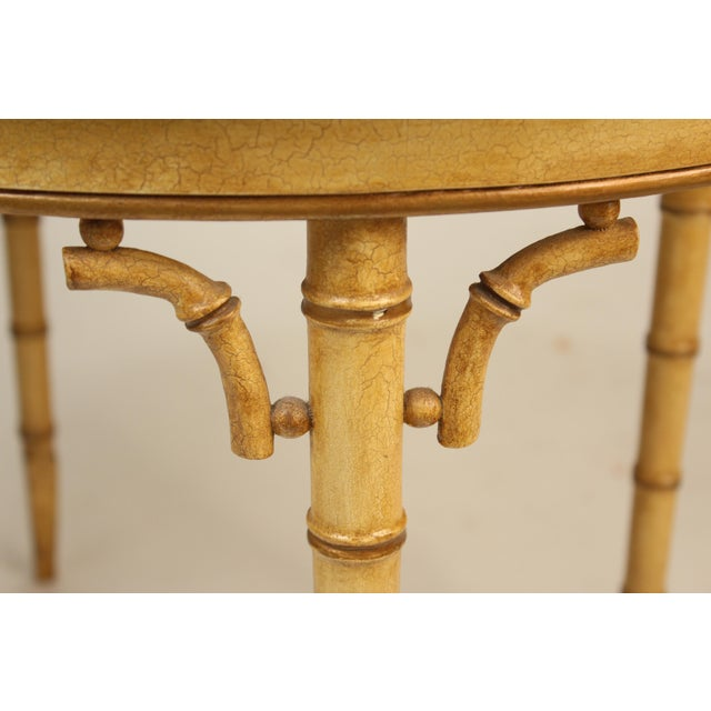 English Regency Style Chinoiserie Decorated Tray Table For Sale - Image 12 of 13