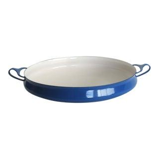 Mid Century Modern Jens Quistgaard Dansk Blue Paella Pan