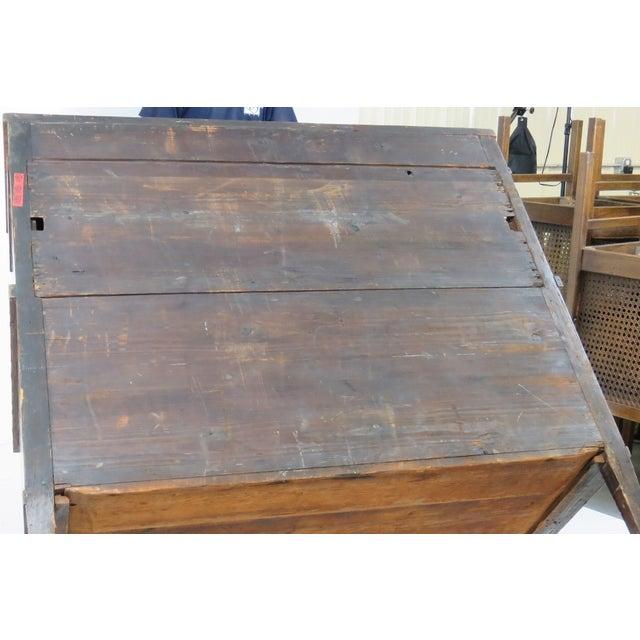 19th C. Biedermeier Cylinder Desk - Image 9 of 10