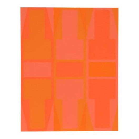 """T Series (Orange)"" Arthur Boden Serigraph - Image 1 of 3"