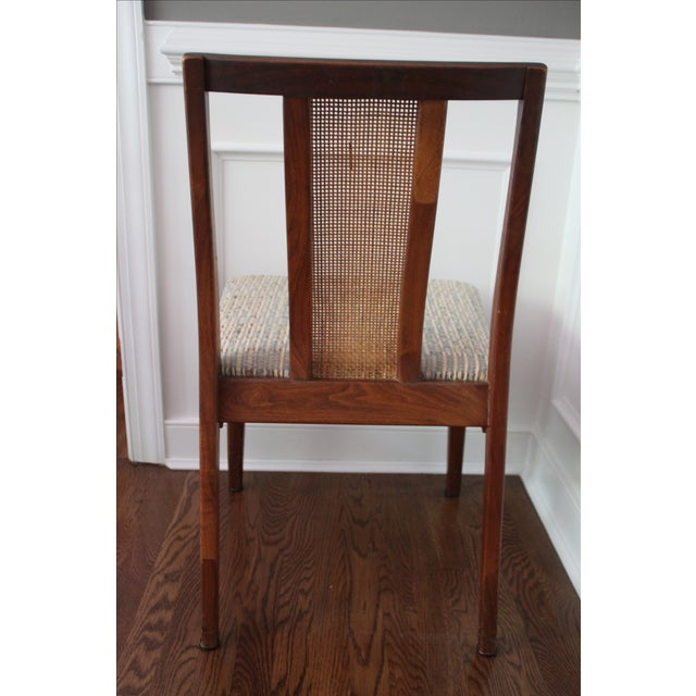 Mid-Century Hibriten Cane Back Chairs - Set of 6 - Image 11 of 11