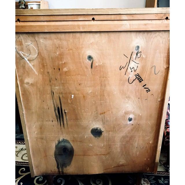 Mid 20th Century Mid-Century Modern Huntley Blonde Wood Highboy Dresser For Sale - Image 5 of 11