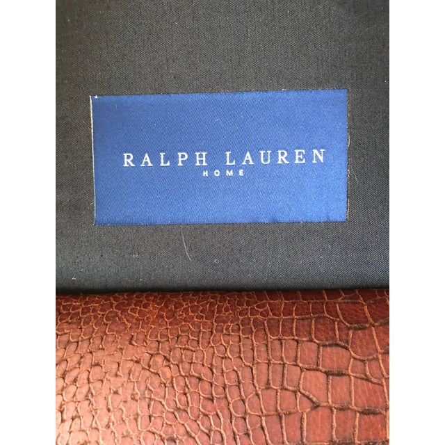 Ralph Lauren Home Marseilles Leather Club Chair For Sale - Image 9 of 10