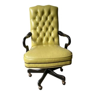 Vintage McKinley Leather Office Chair For Sale