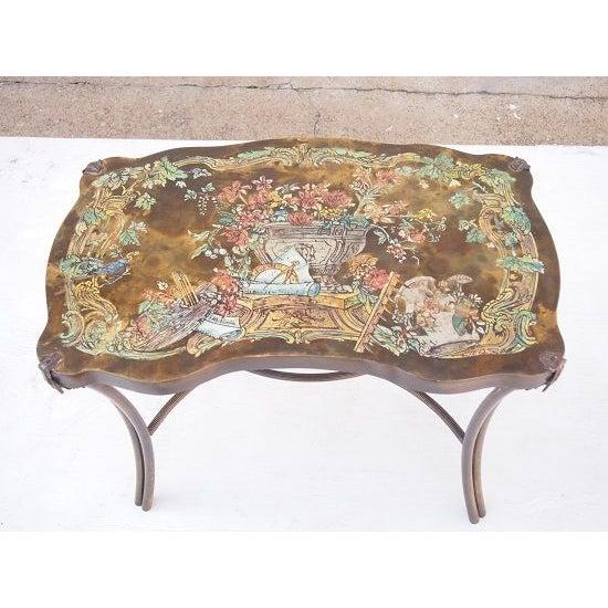 Philip & Kelvin Laverne Table For Sale - Image 4 of 5