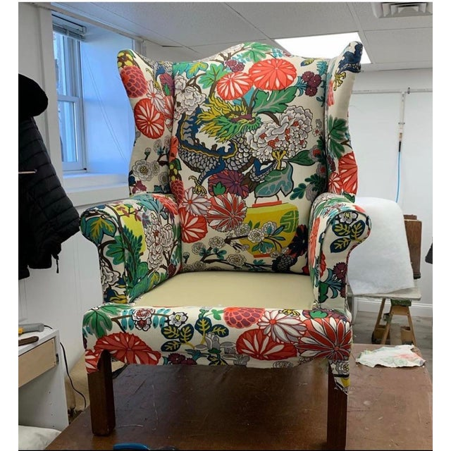 2020s Mai Dragon Club Chair For Sale - Image 5 of 11