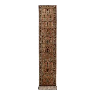 Antique Lilihan Persian Runner with Modern Traditional Style