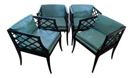 Image of Teal Architectural and Garden Elements