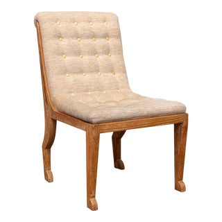 Marc du Plantier Style Slipper Chair For Sale