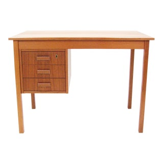 1960's Vintage Ejsing Møbelfabrik Teak Writing Desk For Sale