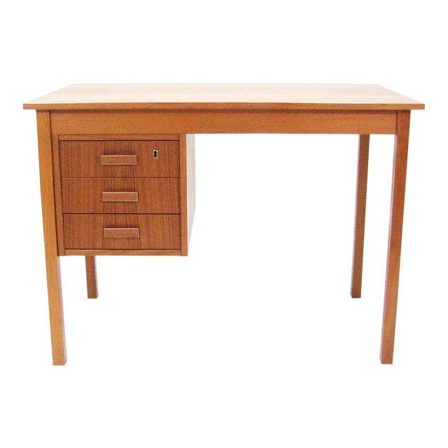 1960's Vintage Ejsing Møbelfabrik Teak Writing Desk For Sale
