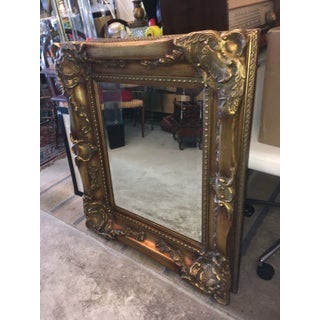 Solid Wood Decorative Framed Beveled Wall Mirror Preview