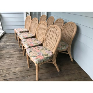 Whitecraft Furniture Rattan Chairs - Set of 8 Preview