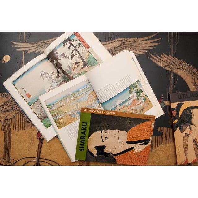 Hokusai, Hiroshige, Sharaku, Utamaro - Book Set of 4 For Sale - Image 11 of 13
