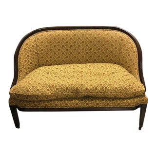 Traditional Upholstered Cocheo Brothers Loveseat For Sale