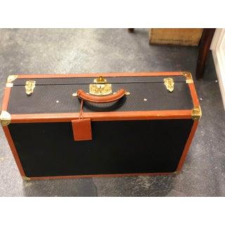 Bottega Veneta Vintage Coated Canvas Hard Suitcase Luggage Preview