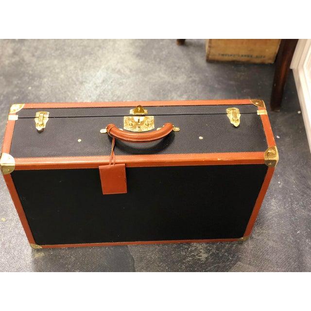 Bottega Veneta Vintage Coated Canvas Hard Suitcase. Made in Italy!