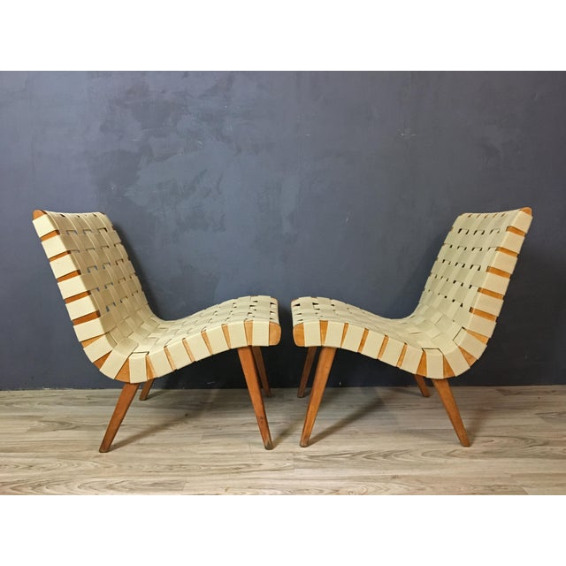 Pair of Mid Century Jen Risom Lounge Chairs - Image 3 of 6