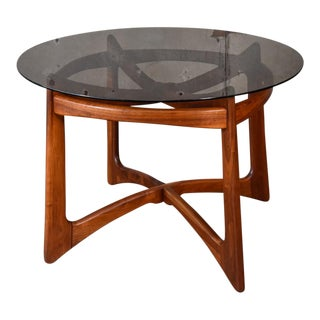 Adrian Pearsall 2458-T Sculptural Walnut Dining Table For Sale