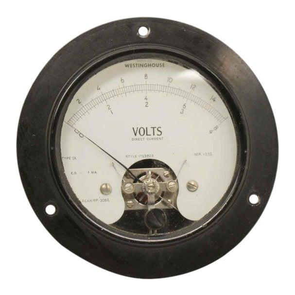 Olde Westinghouse Volt Meter - Image 1 of 6