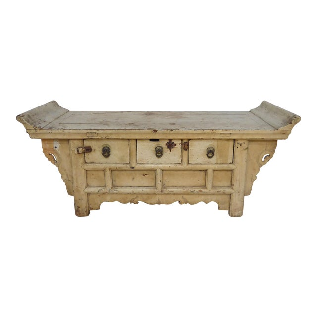Antique Ming Altar Table For Sale