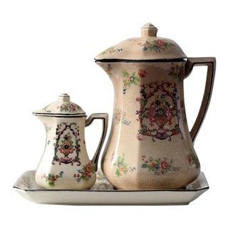 Antique Japanese Porcelain Tea Service - Set of 3 For Sale
