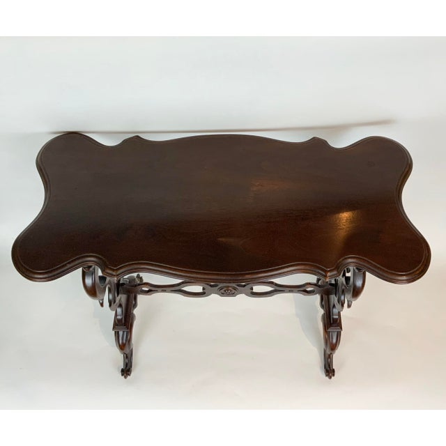 Brown 19th Century Victorian Side Table For Sale - Image 8 of 13