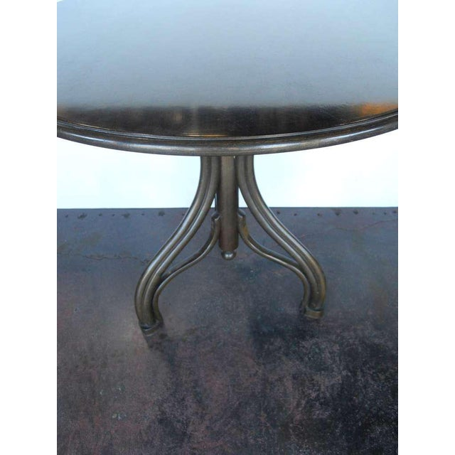 Thonet 1950s Vintage Thonet Table and Chairs- 3 Pieces For Sale - Image 4 of 10