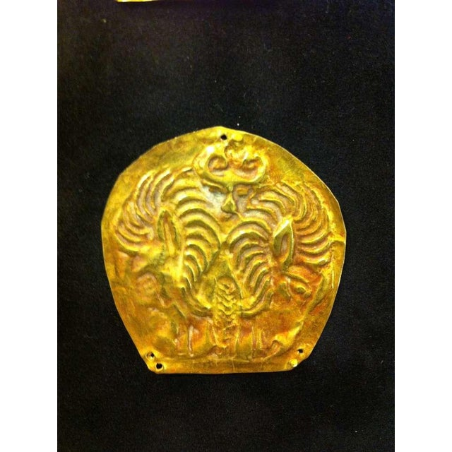 Gold Set of Ordos Culture Gold Plaques For Sale - Image 7 of 7