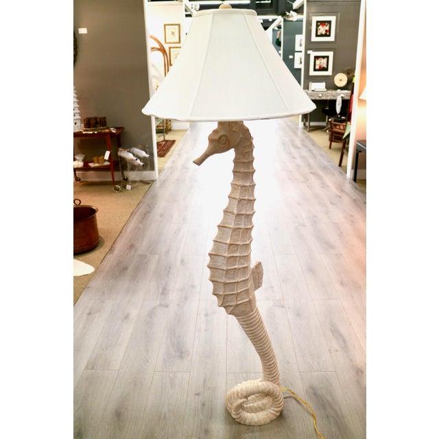 Vintage Seahorse Floor Lamp | Chairish