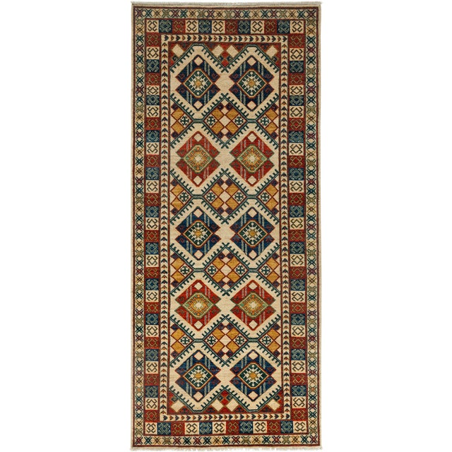 """Ziegler Hand Knotted Area Rug - 4'1"""" X 9'5"""" For Sale"""