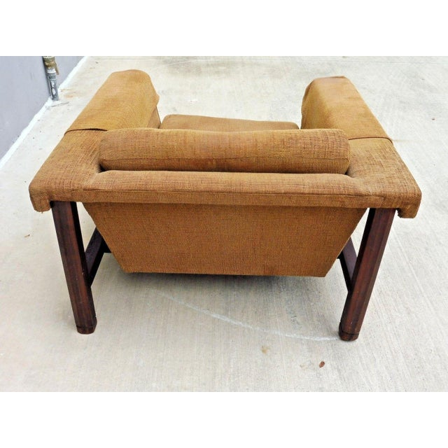 1960s 1960's Mid Century Modern Low Slung Lounge Chair For Sale - Image 5 of 8