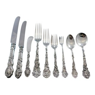 Versailles by Gorham Sterling Silver Flatware Service 12 Set 114 Pieces Dinner For Sale