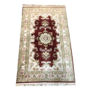 Late 19th Century Vintage Turkish Rug For Sale