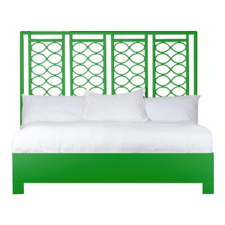 Infinity Bed King - Bright Green For Sale