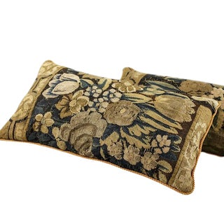 Aubusson Tapestry Pillow For Sale