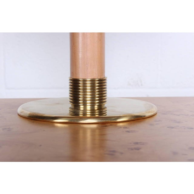 Gold Rare Table Lamp by Paavo Tynell for Taito For Sale - Image 8 of 10