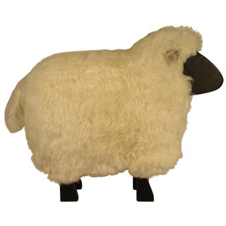 1960s Lifesize Sheep Sculpture For Sale